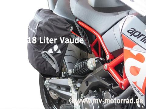 MV portaequipajes para la vinculación del pasajero para BMW conductores solos con VAUDE bolsa II 18 litros - aluminio en nuevo diseño